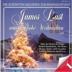 Frohe Weihnachten Cd.James Last Wunscht Frohe Weihnachten