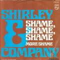 SHIRLEY & COMPAGNY - shame shame shame - 7inch (SP)