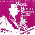 WOODY HERMAN - blowin'up a storm 20 original big band hits - CD