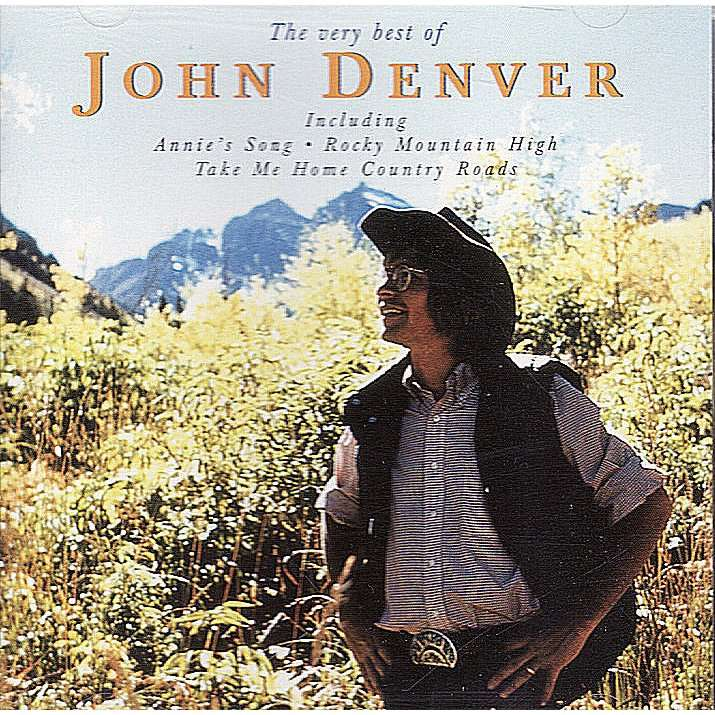 The Very Best Of By John Denver Cd With Quaddo Ref