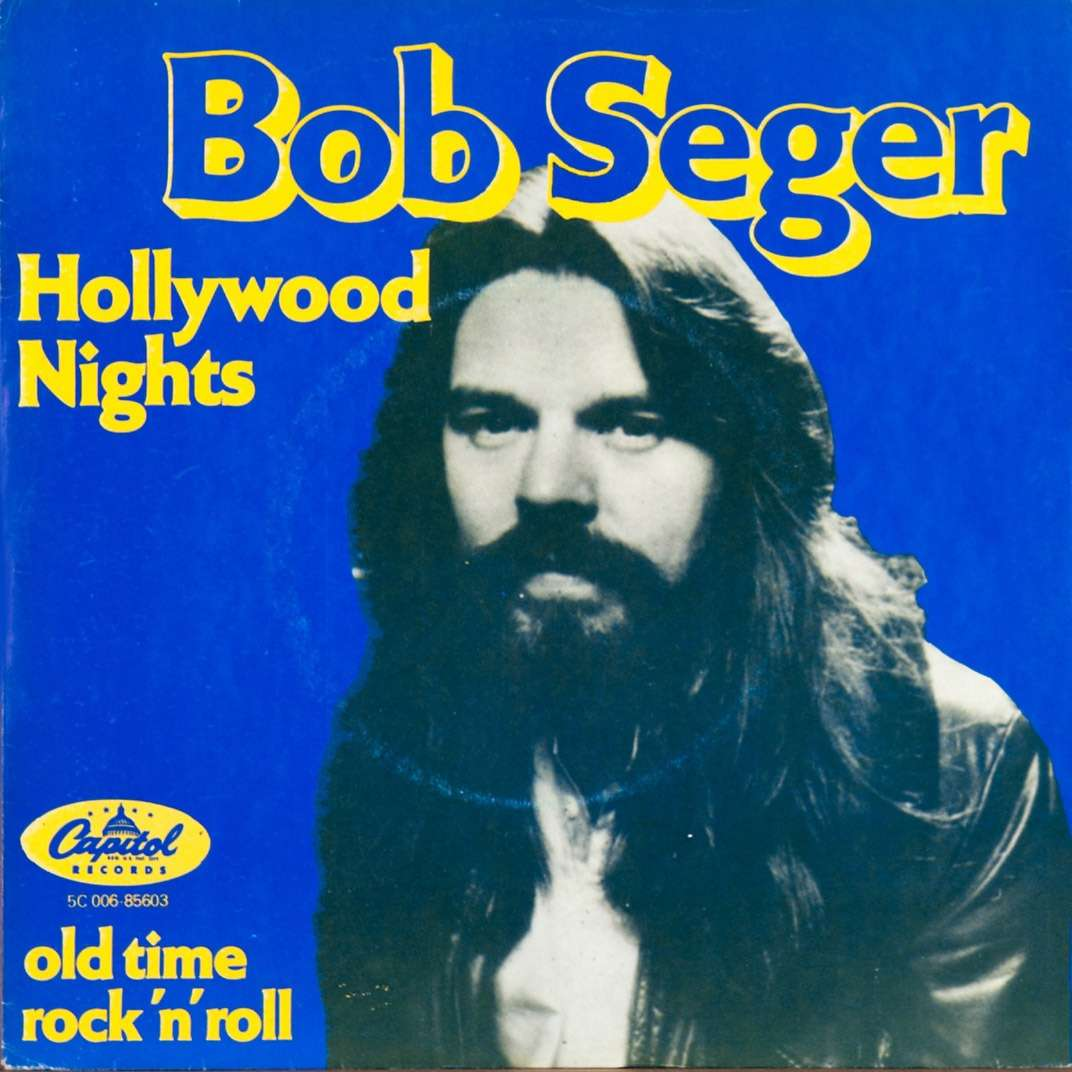 hollywood nights old time rock 39 n roll holland by bob seger sp with rabbitrecords ref. Black Bedroom Furniture Sets. Home Design Ideas