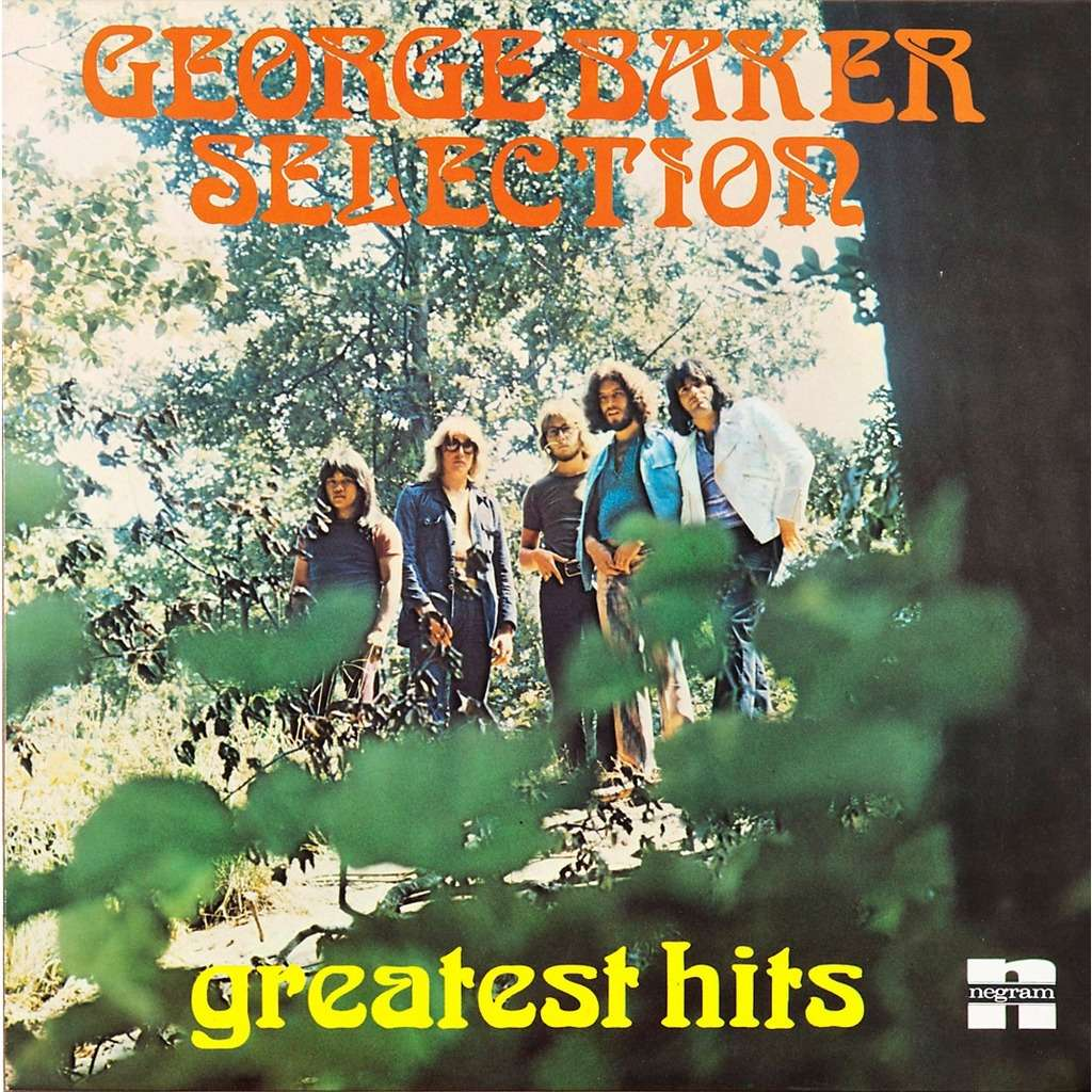 Greatest Hits By George Baker Selection Lp With