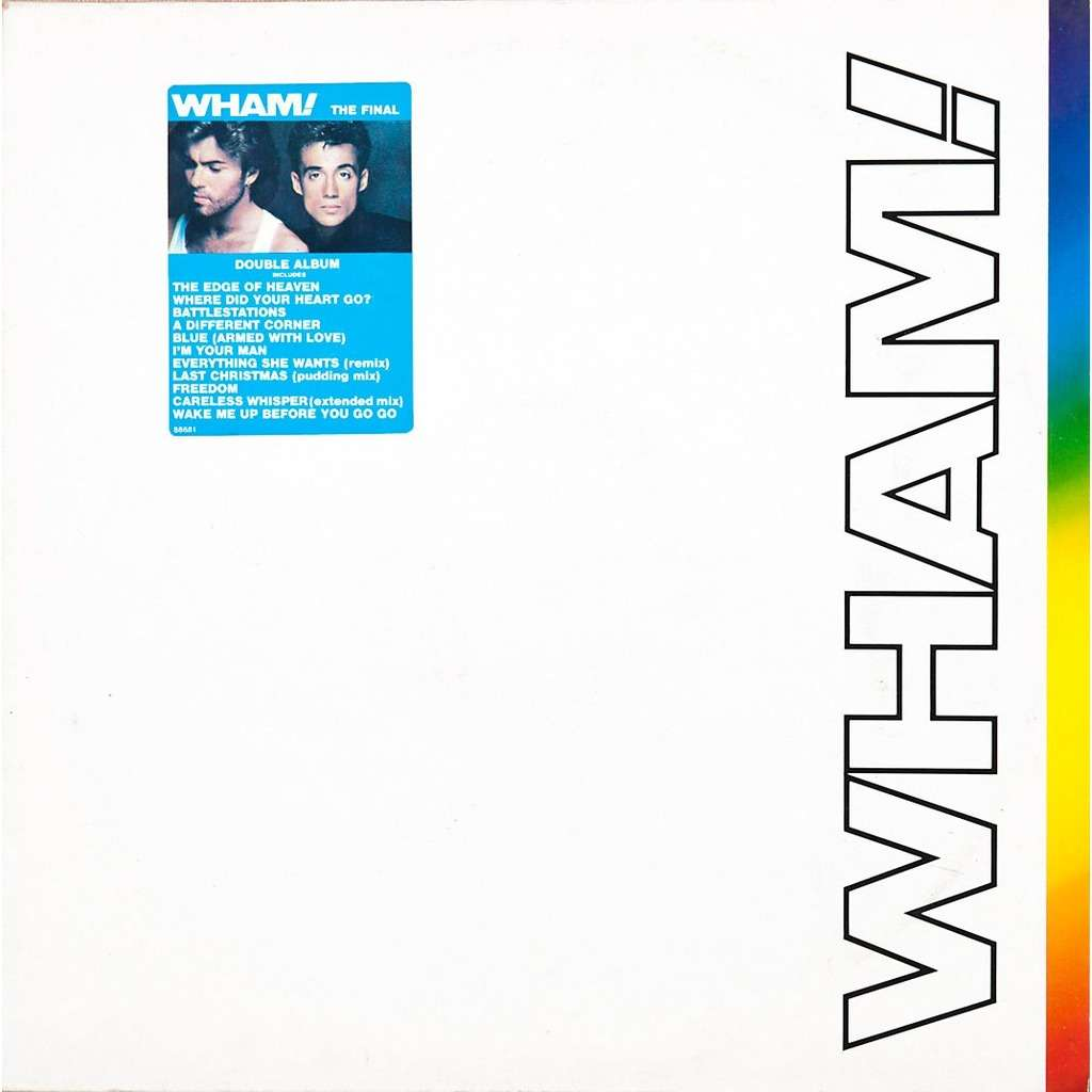 The Final By Wham Lp X 2 With Rabbitrecords Ref 115129010