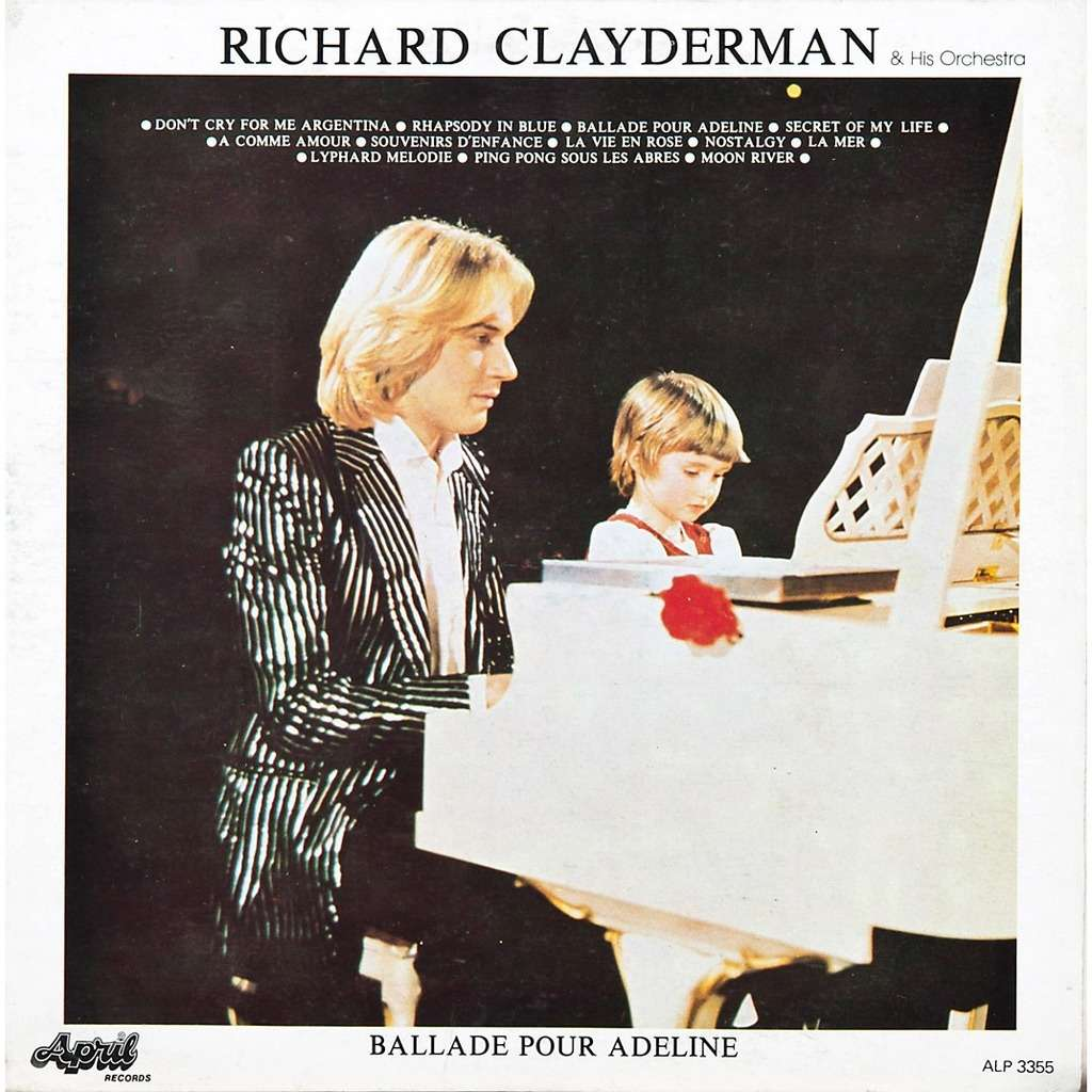 ballade pour adeline by richard clayderman lp with rabbitrecords ref 115129419. Black Bedroom Furniture Sets. Home Design Ideas