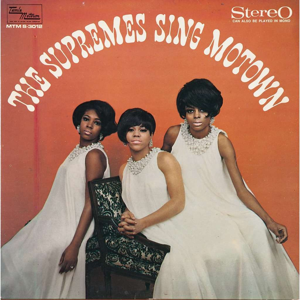 Sing Motown By Supremes Lp With Rabbitrecords Ref 115186833