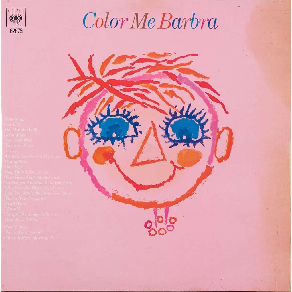 Color me barbra by Barbra Streisand, LP with rabbitrecords - Ref ...