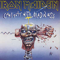 Iron Maiden - Can I Play With Madness/black Bart Blues (with Transfer)