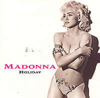 Madonna - Holiday/true Blue