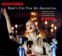 Madonna - Don't Cry For Me Argentina(radio Edit/...(album Version))