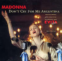 Don't Cry For Me Argentina(radio Edit/...(album Version)) - Madonna
