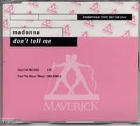 Madonna - Don't Tell Me(edit)