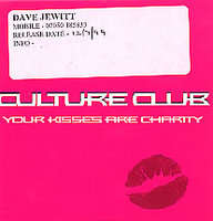 Culture Club - Your Kisses Are Charity(radio Edit)