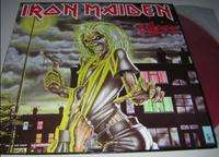 Iron Maiden - Killers 11 Tracks (red Vinyl)