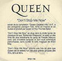 Queen - Don't Stop Me Now Album