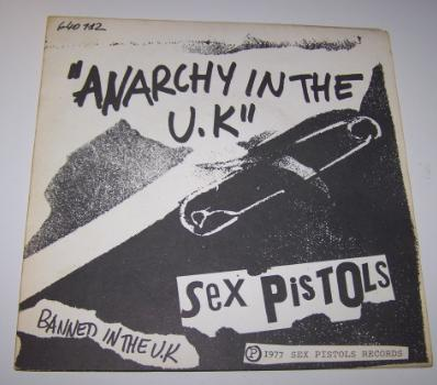 SEX PISTOLS - Anarchy in the UK/God save the queen/Bodies/Pretty vacant/Hol