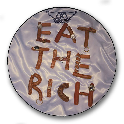 Aerosmith - Eat The Rich/fever/head First -v Picture Disc