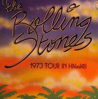 ROLLING STONES 73 tour in Hawaii tour programme