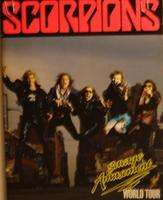Scorpions - Savage Amusement World Tour Programme