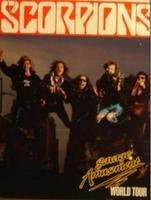 Scorpions - Savage Amusement World - Tour Programme