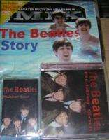 MIX MAGAZYN MUZYCZNY SELLES N° 16 THE BEATLES STORY + 1 CD + 1 CASSETTE RUBBER SOUL
