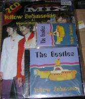 MIX MAGAZYN MUZYCZNY SELLES N° 19 THE BEATLES + 1 DOUBLE CD + 1 CASSETTE YELLOW SUBMARINE