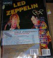 POP MAGAZYN MUZYCZNY SELLES N° 8 LED ZEPPELIN + 1 CD GOOD TIMES BAD TIMES