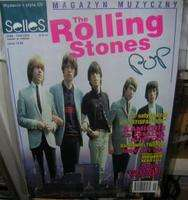 POP MAGAZYN MUZYCZNY SELLES N° 6 ROLLING STONES WITHOUT CD