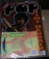 POP MAGAZYN MUZYCZNY SELLES N° 10 JIMI HENDRIX + 1 CD HEY JOE!