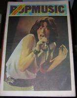 POP MUSIC N°112 12 JUILLET 1972 NUMERO DOUBLE MICK JAGGER