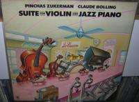 CLAUDE BOLLING Bolling/Zukerman : Suite for violin and jazz piano