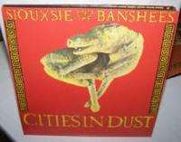 Siouxsie & The Banshees - Cities In The Dust/an Execution Poster Sleeve