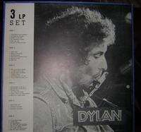 Bob Dylan - Dylan Box Set 3 Lp