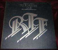 RTF RETURN TO FOREVER LIVE COMPLETE CONCERT BOX SET 4 LP