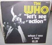 Who - Let's See Action/when I Was A Boy