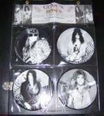 Guns N' Roses - Interview Picture Disc Collection 4 Singles Limited Edition