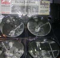 BEATLES Interview picture disc collection