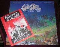 lee breuer & BOB TELSON THE GOSPEL AT COLONUS (WITH FLYER FOR CONCERT IN PARIS)