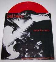 BAD BRAINS PAY TO CUM / AT THE MOVIES (RED VINYL)