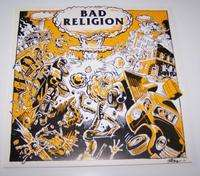 BAD RELIGION ATOMIC GARDEN (ONE SIDED ETCHED RECORD)