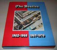BEATLES BOX SET 1962-1966 / 1967-1970 (1 VIDEO + BOOKLET + PHOTOS + NEGATIVES & CATALOGUE)