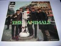 ANIMALS we've gotta get out this place / i can't believe it / i ain't got you / how you've changed