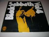 Black Sabbath - Volume 4 - Rare Original Spainsh Vertigo Swirl Label
