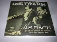DAVID & IGOR OISTRAKH / J.S. BACH sonate pour 2 violons