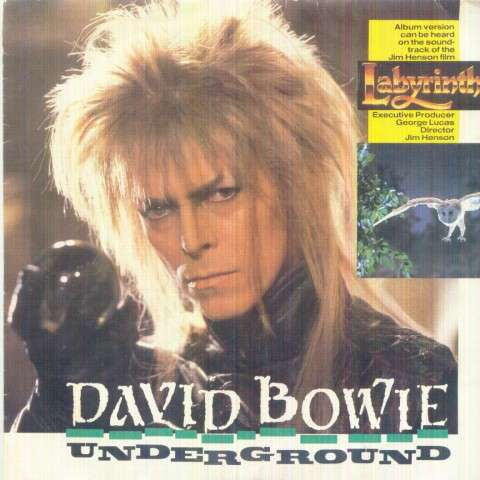 David Bowie - Underground(edited Version/...(instrumental))