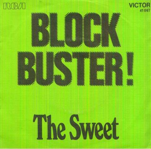 Sweet - Block Buster/need A Lot Of Lovin'