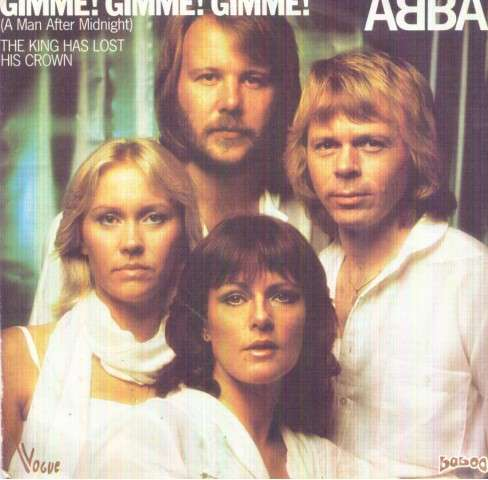 Abba - Gimme Gimme Gimme/the King Has Lost His Crown Album