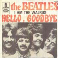 BEATLES i am the walrus/hello, goodbye