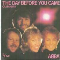 Abba - The Day Before You Came/cassandra Album
