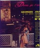 GEORGES JOUVIN PARIS JE T'AIME