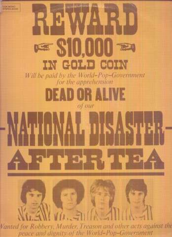 AFTER TEA NATIONAL DISASTER [VERY RARE STUFF]